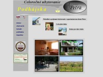 Apartmány Petra