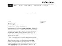 ARCH ESTATES, s.r.o.