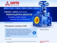 Průmyslové armatury Zafír