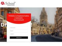 A. School – škola angličtiny
