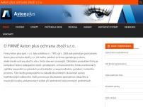 Aston plus ochrana zboží, s.r.o.