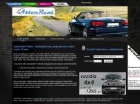 AstonRent – půjčovna aut a pneuservis