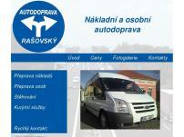 Autodoprava Ondřej Rašovský