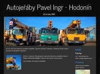 Pavel Ingr – Práce autojeřábem