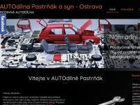 AUTOdílna Pastrňák a Automontáže.cz