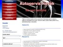 Autoservis Novák