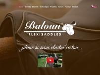 Výroba jezdeckých potřeb – Baloun s. r. o.