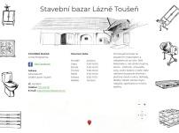 Stavební bazar – Nábytek, Lázně Toušeň