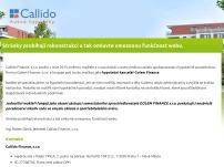 CALLIDO FINANCE s.r.o.