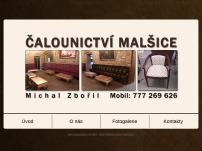 Čalounictví Malšice - Michal Zbořil