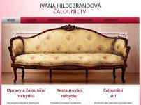Čalounictví - Ivana Hildebrandová