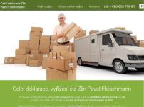 Pavol Fleischmann – celní deklarace a spedice, prodej a renovace cartridgí
