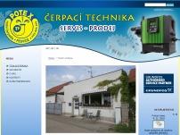 Čerpací technika - Miroslav Potměšil