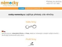 cesky-nemecky.cz