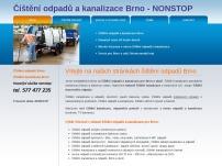 Čištění odpadů a kanalizace Brno