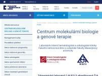 Centrum molekulární biologie a genové terapie