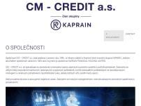 CM - Credit, a.s.