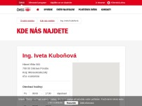 Ing. Iveta Kuboňová - FINKOS, finančně-konzultační služby
