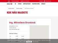 Ing. Miroslava Drvotová – STAVEBNÍ SPOŘENÍ, POJIŠTĚNÍ