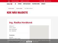 Ing. Radka Horáková