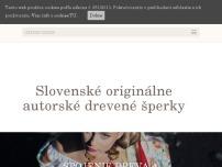 Slovenské originálne autorské drevené šperky