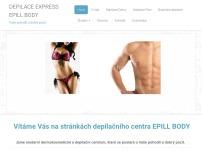 Depilace Express EPILL BODY