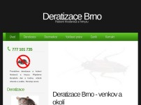 Deratizace Brno