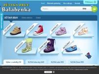 Dětská obuv Balabenka