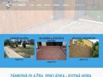 Pokládka dlažby – Odvoz odpadu – Dovoz písku – Petr Vaněk