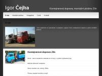 Igor Čejka - Nákladní doprava