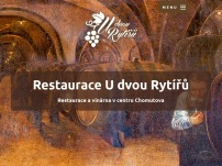 Vinárna Restaurant U Dvou rytířů