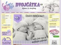 Dvojčátka.cz – kojenecké zboží a těhotenská móda