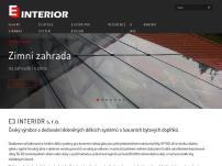 E3 INTERIOR, s.r.o.