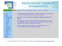 Elektronické výtahové systémy - Martin Matuszek