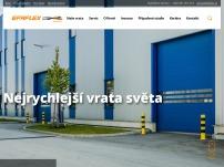 EFAFLEX – rychloběžná vrata a periferní zařízení