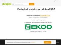 Ekologické produkty ECOVER