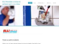 ELLI Montáže a revize elektrických zařízení, spol. s r.o. Lišov