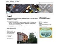 Ing. Milan Starý – SERVIS ELEKTRONIKY