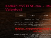 Kadeřnictví El Studio  -  Michaela Valentová