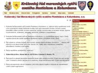 Královský řád Moravských rytířů svatého Rostislava a Kolumbana, o.s.