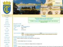 Římskokatolická farnost u kostela Nejsvětější Trojice, Brno - Královo Pole