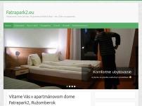 Ubytovanie v apartmánoch Fatrapark2