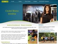 Osobní fitness trenérka Andrea