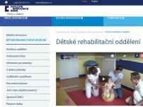 Dětské rehabilitační oddělení