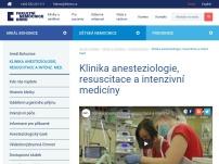 Klinika anesteziologie, resuscitace a intenzivní medicíny