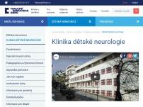 Klinika dětské neurologie