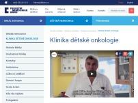Klinika dětské onkologie