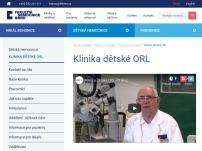 Klinika dětské ORL
