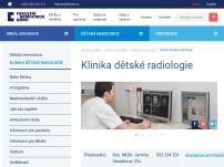 Klinika dětské radiologie