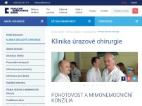 Klinika úrazové chirurgie